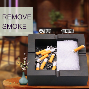 Adsorption Soot Air Freshener Remove Ashtray Smell Eliminate Smoke Clean Smoke Sheet Cigarette Accessories Smell Proof Container