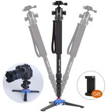 Manbily A-666 Professional Portable Travel DSLR Camera Monopod Tripod Stand