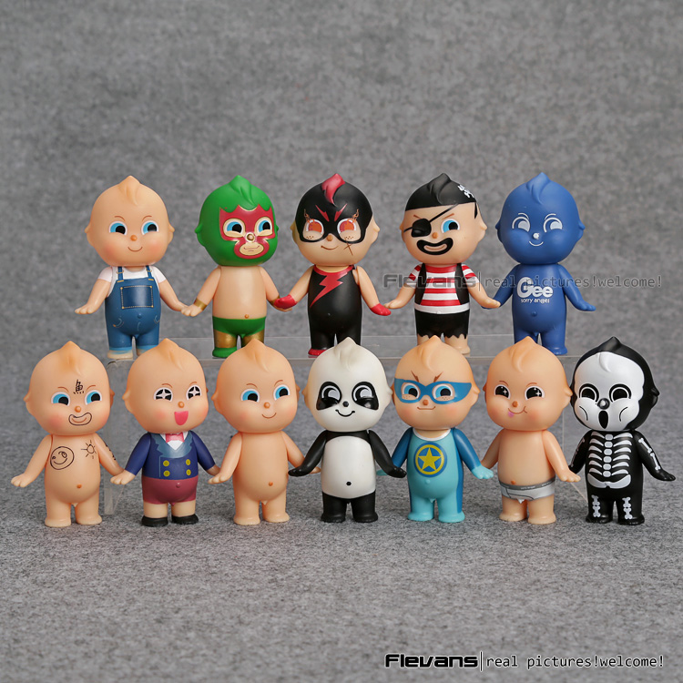 <font><b>12</b></font> <font><b>pcs</b></font>/<font><b>set</b></font> Mini <font><b>Kewpie</b></font> <font><b>Doll</b></font> <font><b>Sonny</b></font> <font><b>Angel</b></font> Original <font><b>Baby</b></font> <font><b>Doll</b></font> <font><b>Set</b></font> Toy Gee <font><b>Sonny</b></font> <font><b>Angel</b></font> Hero Cosplay Series PVC Figures Toys DSFG348
