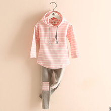 Classic Striped Baby Girl Clothing Set