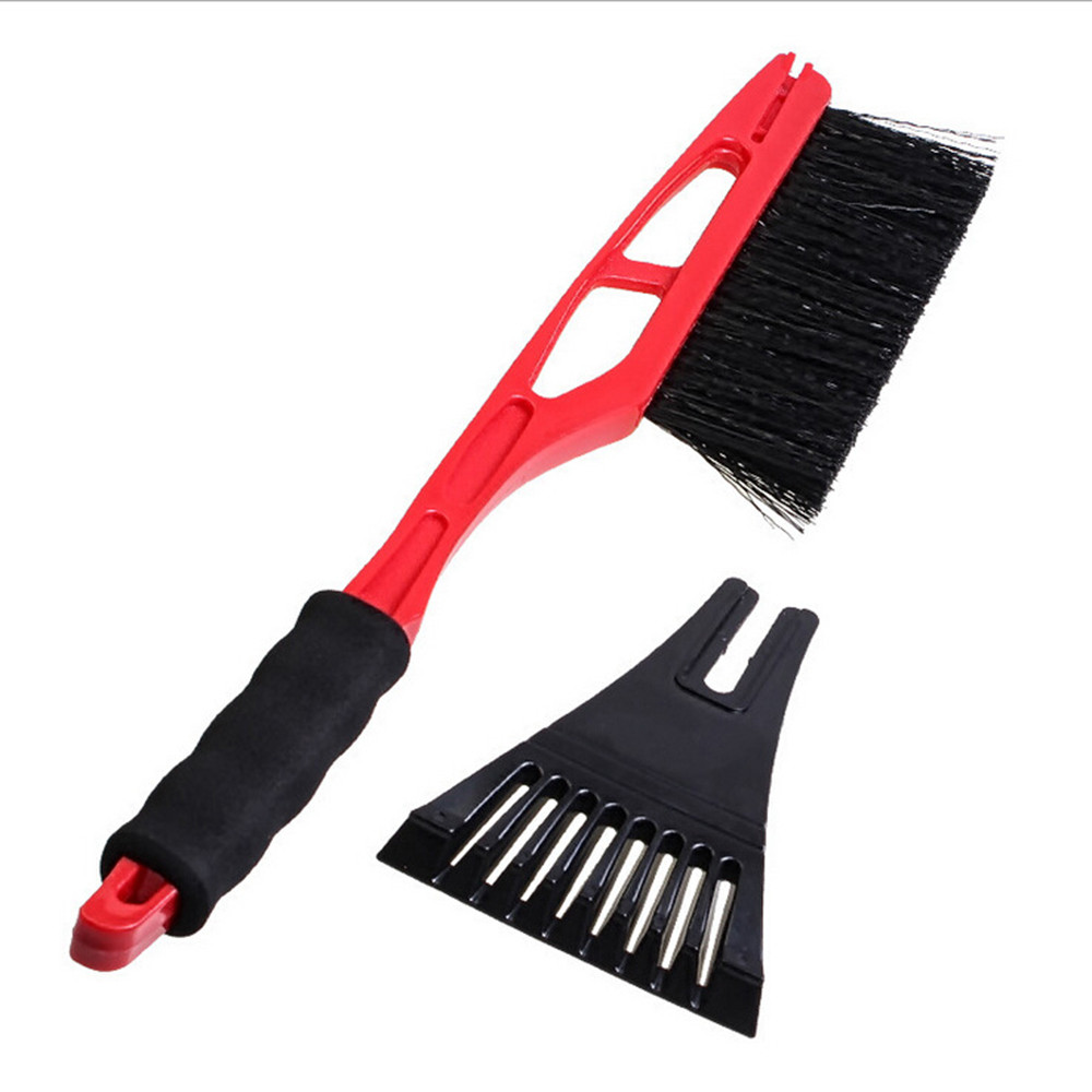red color hot sale Car Vehicle Durable Snow Ice Scraper Snow Brush Shovel Removal For Winter