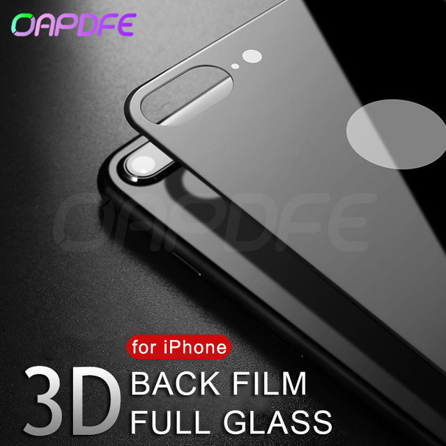 3D back Tempered Glass For Apple iPhone 7 7 Plus Screen Protector on the For iphone 8 8 Plus Full cover Film 9H Protective Glass