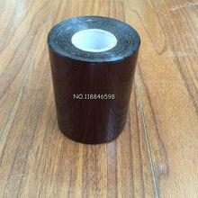 DIY пластик или бумага горячего тиснения рулон бумажной фольги горячей фольги или пластика 8 см x 120 м резка кофе цвет рулон
