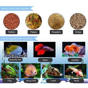 Image 3 - Aquarium 65Ml Automatische Vis Feeder Voor Aquarium Fish Tank Auto Feeders Met Timer Huisdier Voeden Dispenser Lcd Display Vis feeder