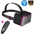 All In One!!! VR Box 3D Glasses Virtual Reality Headset Binocular ZV15 Lentes Realidade Virtual 3D Helmet for Movie Game Adult