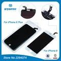 Lcd para o iphone 6 s plus para iphone 6 plus 5s 5g Display LCD Touch Screen Digitador Assembléia Substituição Preto Branco com 3D toque