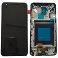 Para lg google nexus 5x lcd screen display toque digitador assembléia com frame h791 h790 peças de reposição