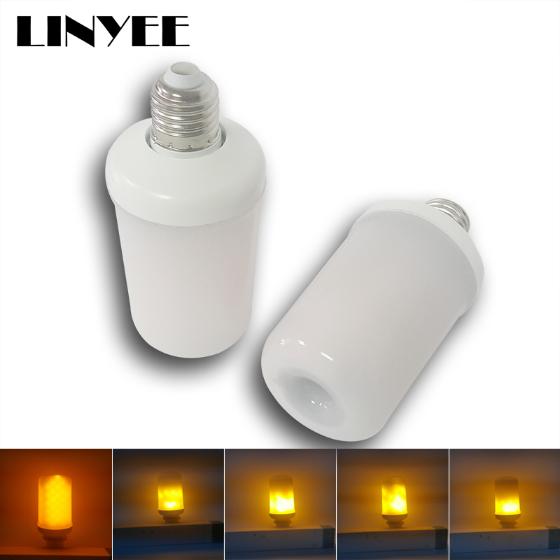 Cheaper Hottest Led Flickering Flame Effect Light Bulb