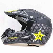 Aprobado por el DOT casco de la Moto de Motocross Casco profesional para Dirt Bicicletas de ATV UTV motos