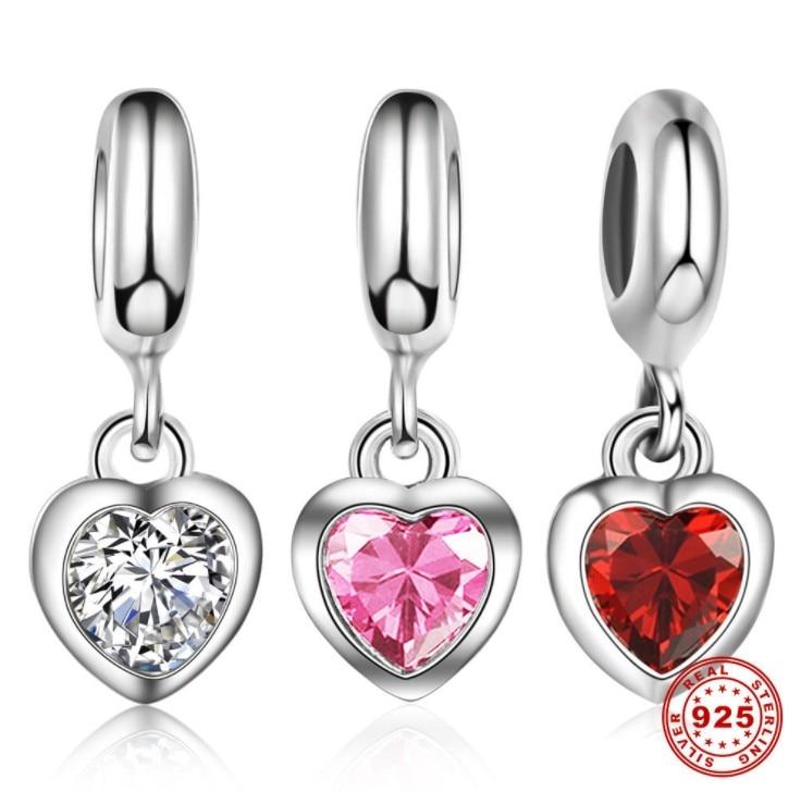 100% Wahr Luxus Marke Hot Fine Jewelry Perlen Fit Original Liebe Sie Armband Halskette Diy Charms Anhänger Für Frauen Geschenk Hitze Und Durst Lindern.