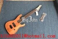Freies verschiffen neue Große John 7 saiten e-gitarre in natürliche farbe F-3357