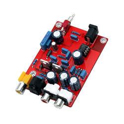 Hifi Tda1543 + Cs8412 DAC аудиодекодер доска Op Amp декодирование декодирования модуль цепи для усилителя #8