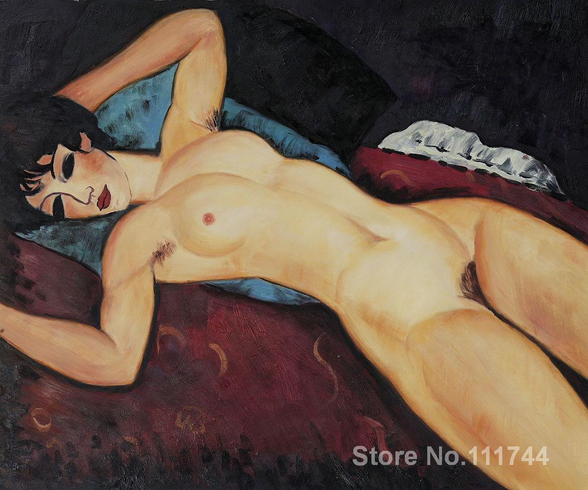 bathroom art Nudo Disteso by Amedeo Modigliani paintings Home Decor Hand painted High quality