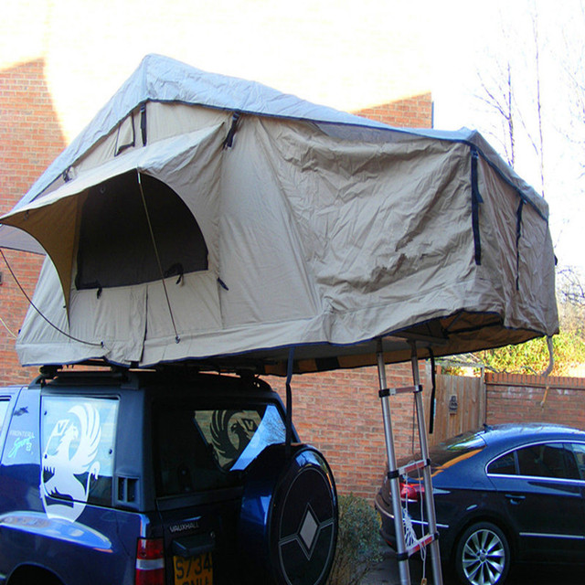4WD roof top tent for 3 to 4 person waterproof roof up tent for car & 4WD roof top tent for 3 to 4 person waterproof roof up tent for ...
