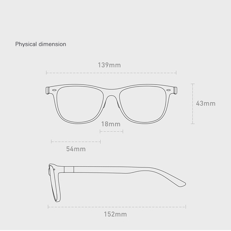 Qukan B1 Photochromic Anti Blue ray Protect Glasses Detachable Anti-blue-rays Protective Glass w1 updated unisex