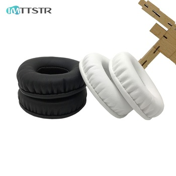 IMTTSTR 1 Pair of Ear Pads earpads earmuff cover Cushion Replacement Cups for Plantronic RIG 500E Surround Sound PC Sleeve image
