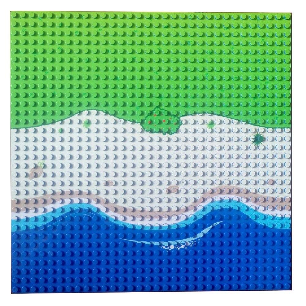 Blocos base longa praia seabeach Material : Plástico