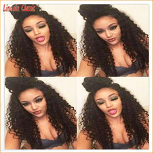 Best 7a Grade Soft Human Hair Kinky Curly Wig Lace Front Virgin Hair Mongolian Curly Lace Front Wigs With Baby Hair Glueless Cap