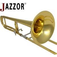 2015 JBSL-T800 JINBAO Tenor trombone professionale Bb/F in ottone strumenti a fiato trombone boccaglio con custodia imbottita
