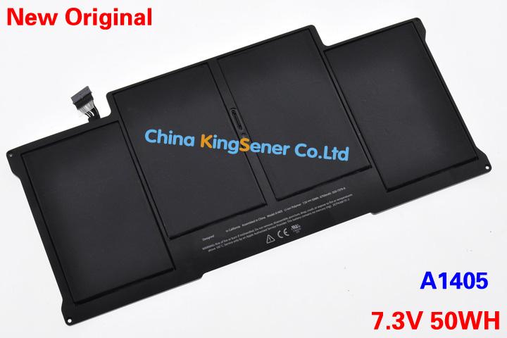 """Prix pour Qualité originale nouvelle A1405 batterie d'ordinateur portable pour Apple MacBook Pro 13 """" A1369 A1466 2011 / 2012 A1377 MC503LL / A MC504LL / A 7.4 V 50WH"""
