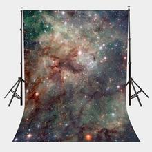 5x7ft Beautiful Sky Picture Backdrop Shining Stars Photography Background Studio