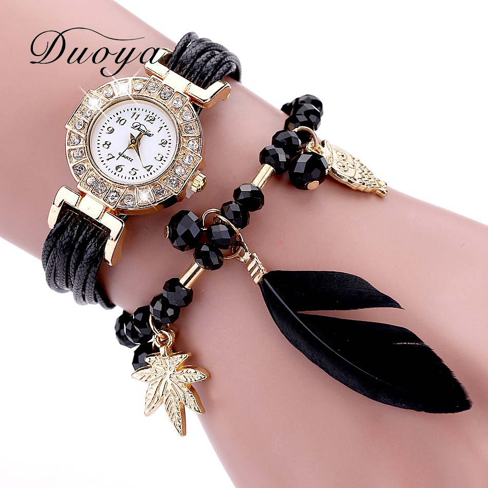 ⑥ Buy quartz watch strap pendant and get free shipping