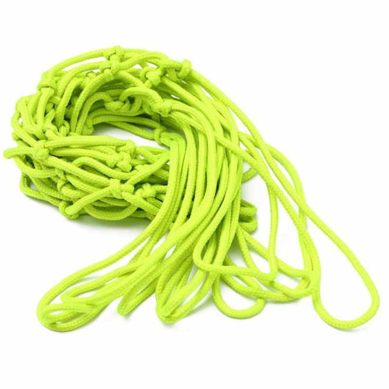 Новый 1 шт. зеленый световой баскетбольная сетка щит мяч нейлоновая сетка крытый спорт на открытом воздухе Замена баскетбольное кольцо Net J10 JUL26