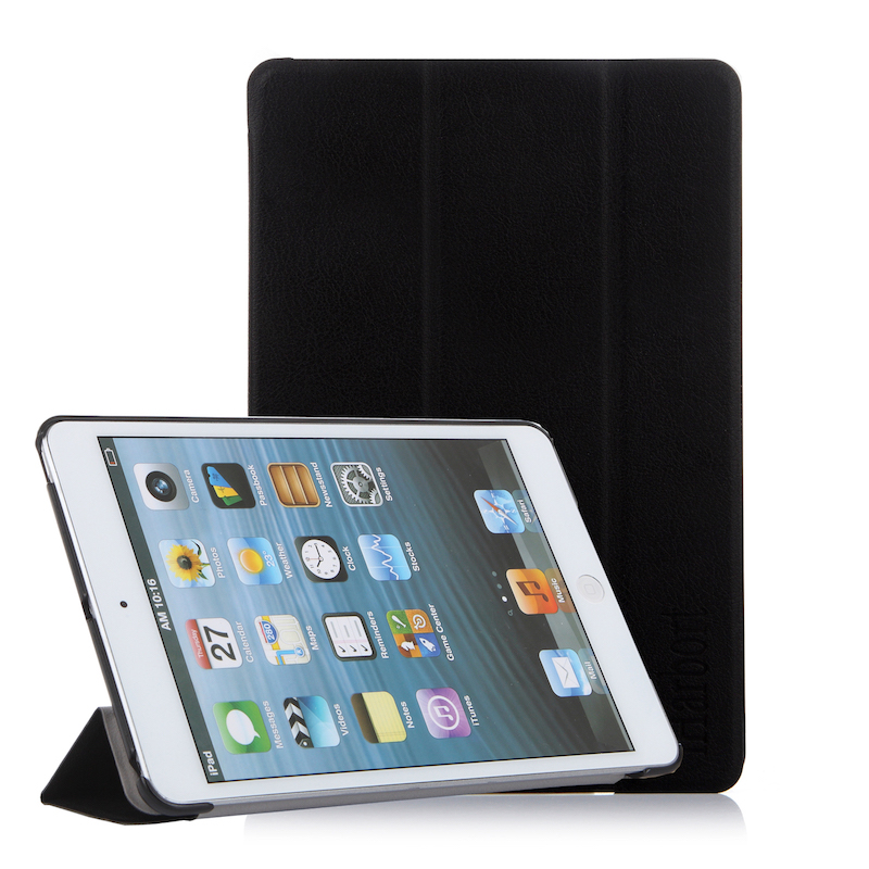 где купить Stand Case for iPad mini 3/2/1, iHarbort PU Leather Case smart Cover with Multi-Angles holder and Auto Wake/Sleep по лучшей цене