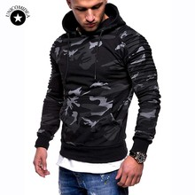5d64b366775fa Fashion Camouflage Hoodies Men Spring Autumn Sweatshirt Long Sleeve Casual  Hip Hop Hoody Men New Camo