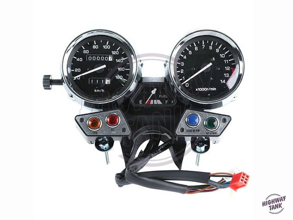 1 Pcs Motorcycle Speedometer Gauge Tachometer Moto Speed Mileage meter case for YAMAHA XJR400 XJR 400 1993 1994
