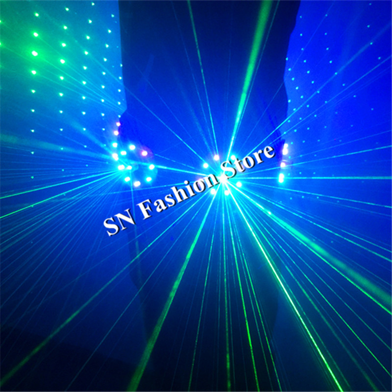 T18 1 RGB light laser belt ballroom dance led costumes mens laser suit laser costume dj club wears bar singer disco led clothes