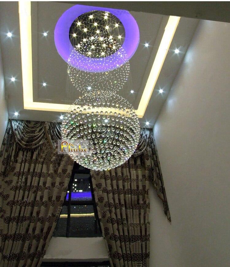popular crystal foyer chandeliersbuy cheap crystal foyer, Lighting ideas
