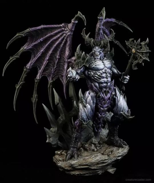 14cm Resin Figure Model Kit Creature Caster Lord Of Malice