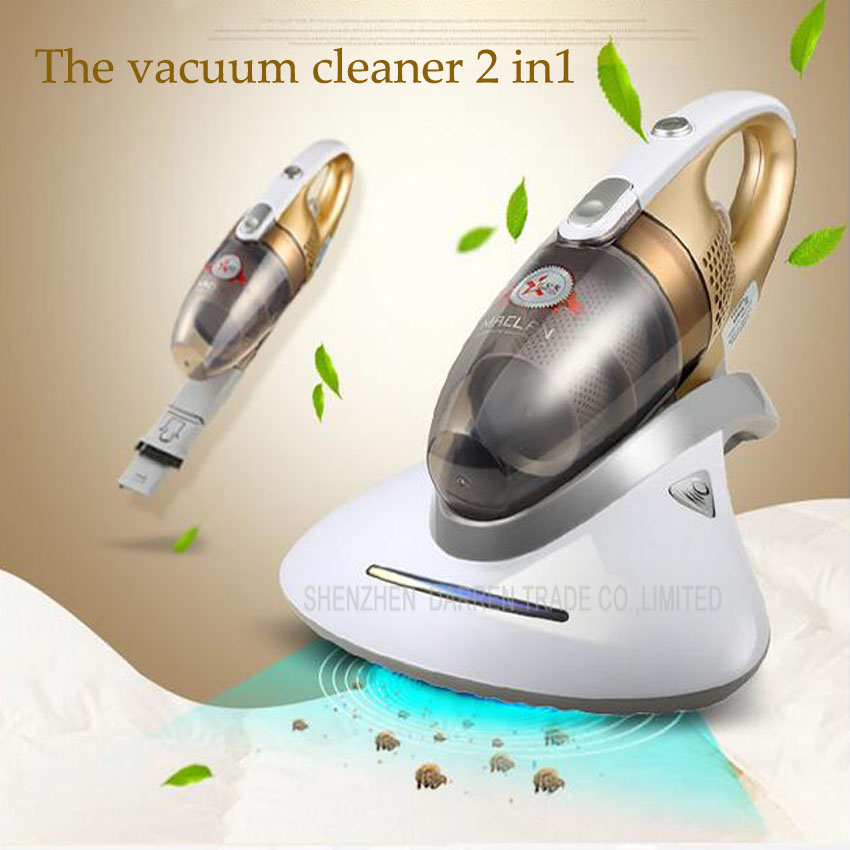 1 PC Household bed bed handheld to treasure except mites cleaner sterilizing machine that divide mite jiqi vacuum cleaner household small strong divide mite handheld pusher dog and cat pet hair carpet suction machine