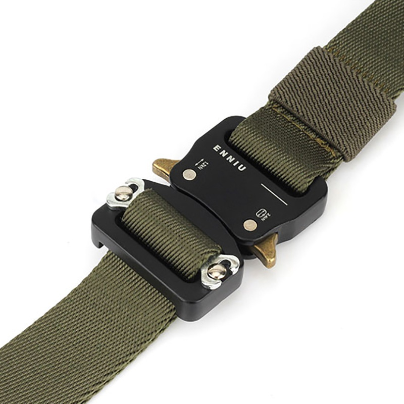 HTB1x vsUHrpK1RjSZTEq6AWAVXaz - Tactical Belts Nylon Military Waist Belt with Metal Buckle Adjustable Heavy Duty Training Waist Belt Hunting Accessories