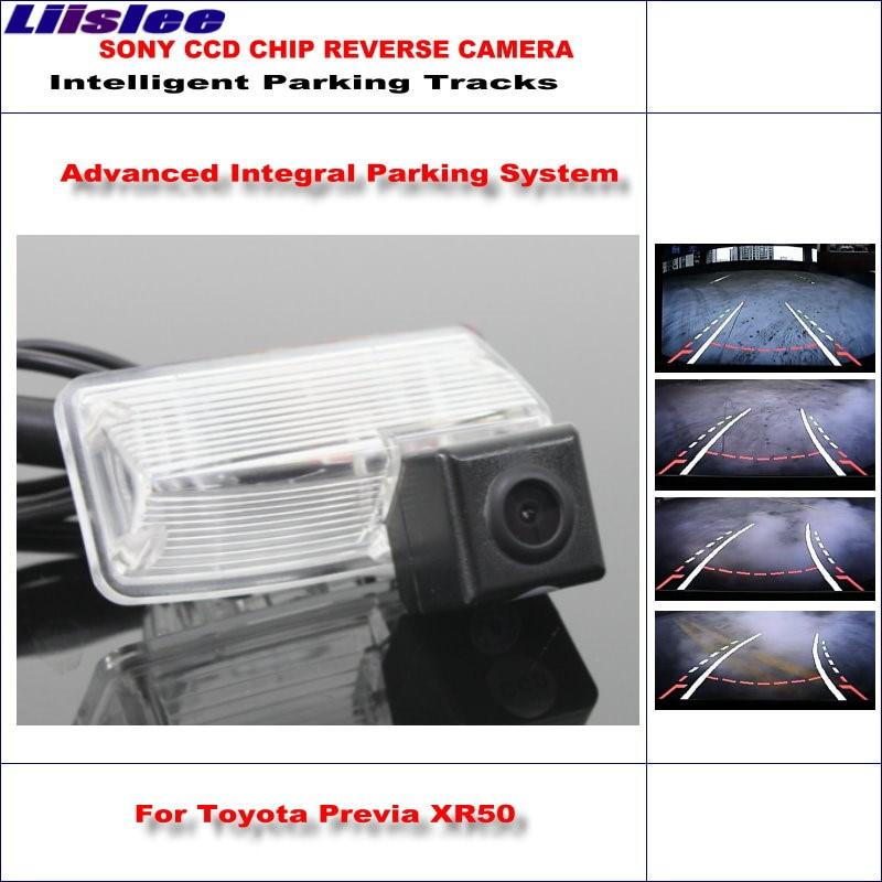 Liislee caméra arrière de voiture intelligente de haute qualité pour Toyota Previa XR50 Toyota Canarado Estima Tarago NTSC PAL RCA