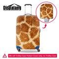 Peles De animais 3D Imprimir Mala de Viagem Bagagem Covers Moda Trecho trole Caso Capas Protetoras Para Aplicar 18 a 30 Polegada casos