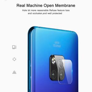Image 4 - 2PC עבור Huawei Mate 20 פרו מצלמה עדשת מזג זכוכית פיצוץ הוכחת אחורי מצלמה עדשת מגן עבור Huawei Mate 20 30 X P20 פרו