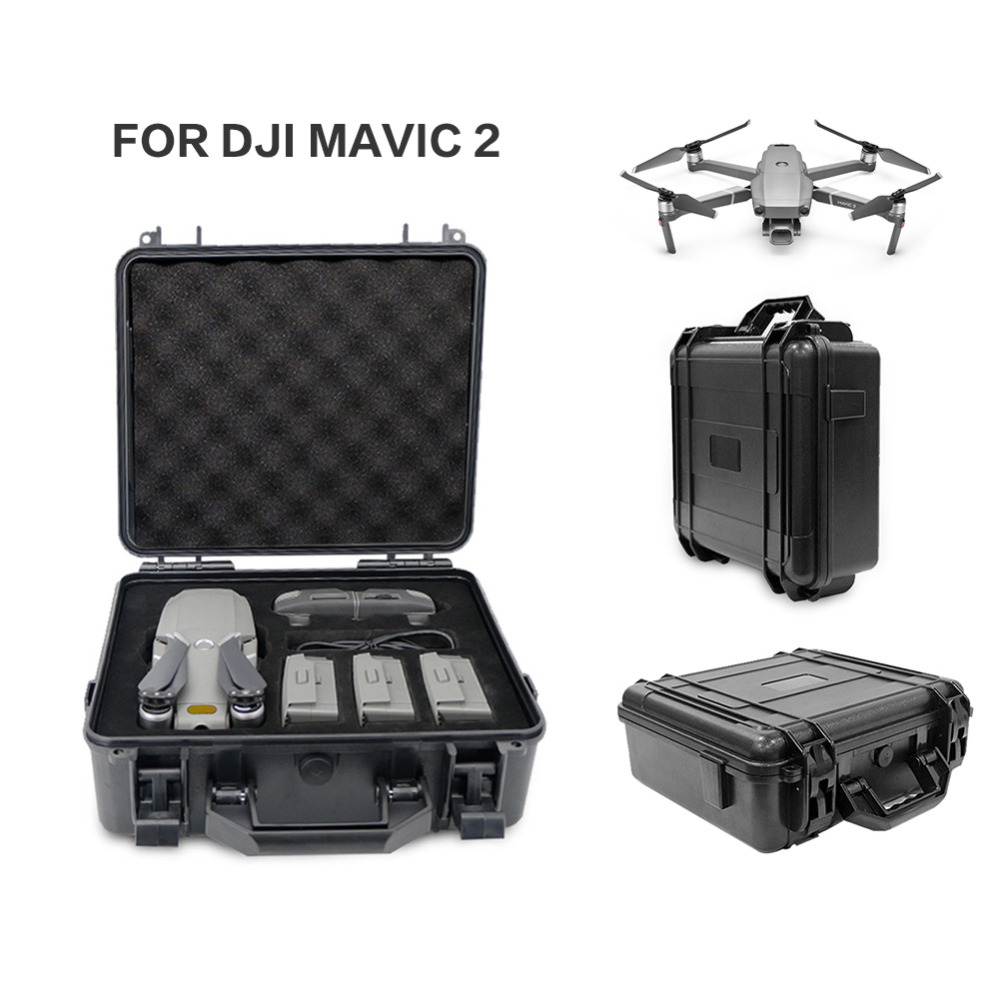 Explosion-proof Mavic 2 Pro Mavic 2 Zoom Bag Box High Capacity Portable SafetyStorage Case for DJI Mavic 2 Drone Accessories for dji mavic 2 bag accessories water resistant portable mavic2 pro zoom case drone box bag protector shoulder strap handle bags