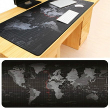 Newest World Map Pattern Gaming Mouse Pad Large Computer Mause Pad Notebook Gamer Mousepad Gaming Mouse Mats for Men Gamer Gifts