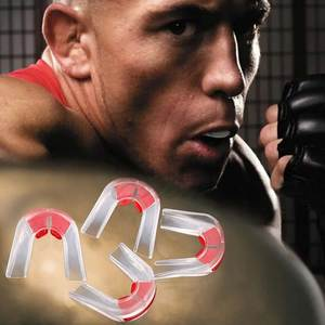1Pc Plasticity Boxing Basketball Gum Shield Mouth Guard Piece Teeth Protector