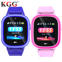 Waterproof Kids GPS Smart Watch SOS Antil-lost Smartwatch Baby 2G SIM Card Clock Call Location Tracker Smartwatch PK Q50 Q90 Q52(China)