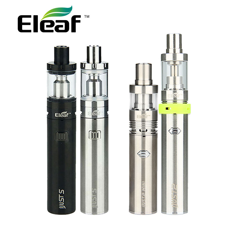 Original Eleaf iJust S Vaping Kit 3000mah iJusts Battery e electronic cigarette Vs Only iJust 2 Kit Vs Only iJust2 mini Kit italy novelty rainbow pendant lights for dining room 1 3 head hallway kitchen tiffany light hanging lamp lustres e pendentes