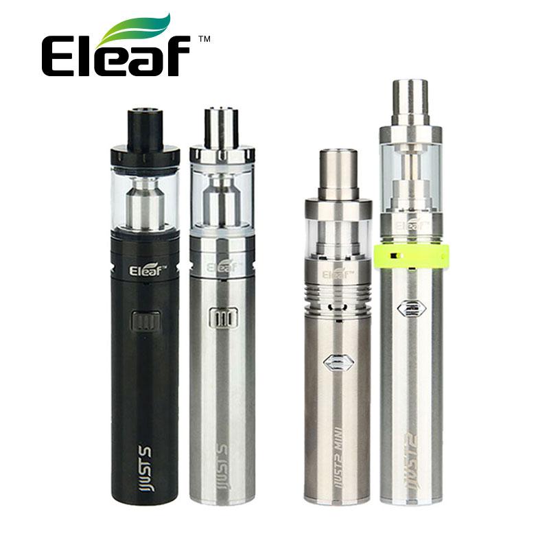 Original Eleaf sólo S Vaping Kit 3000 mAh iJusts batería e cigarrillo electrónico del sólo 2 Kit del sólo iJust2 mini Kit