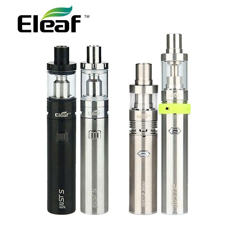 Originale Eleaf iJust S Vaping Kit 3000 mah iJusts Batteria elettronica sigaretta Vs Solo iJust 2 Kit Vs Solo iJust2 mini Kit