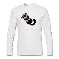 Men S Disturbed Kitty Is Disturbed Tee Shirts Punk Custom Made Funny Cat Full Sleeve Tee