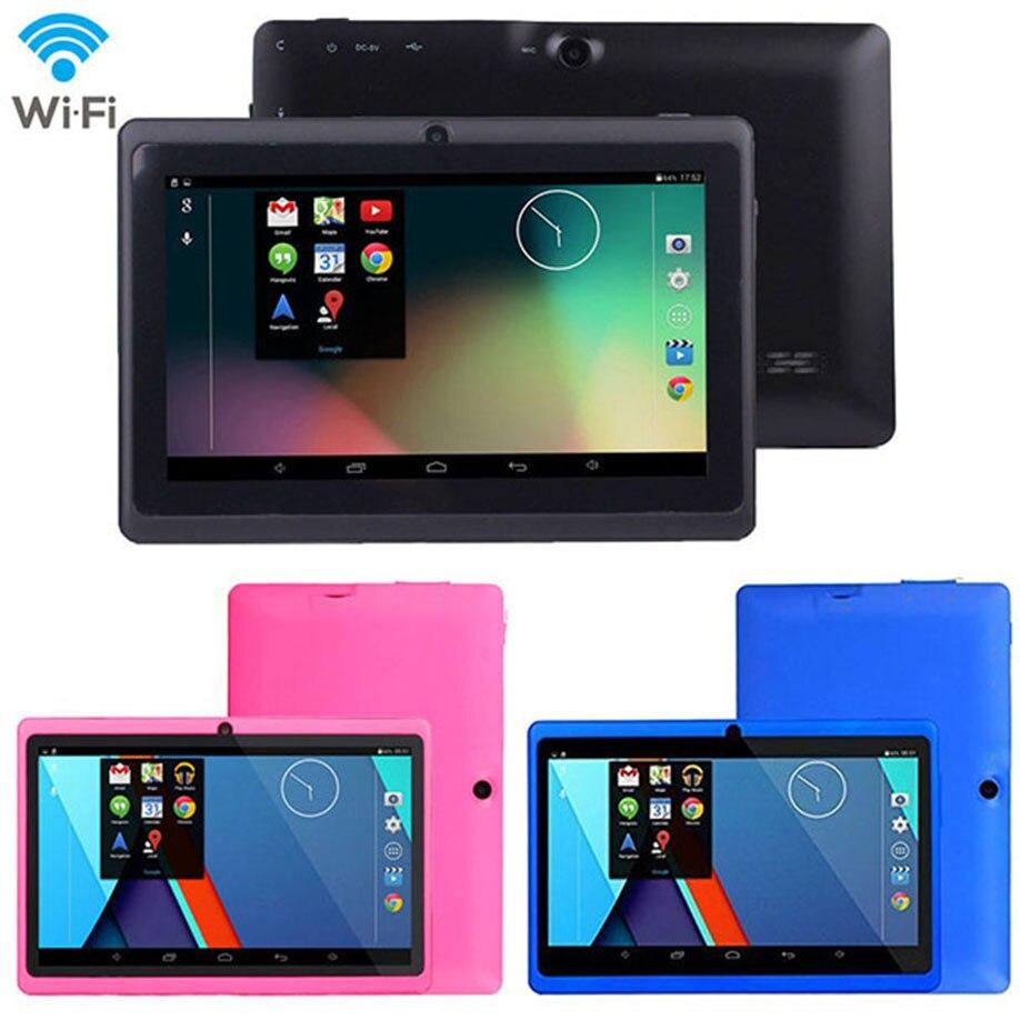 7 Google Android 4.4 4 ядра Планшеты pc 1 ГБ + 8 ГБ двойной Камера Wi-Fi Bluetooth 4 тяжести Сенсор 2000 мАч литий-ионный Батарея Мини-ПК ...