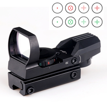 BIJIA Red Dot Sight 11mm / 20mm Rail Sniper Pistol Airsoft Air Gun Reflex Rifle Scopes Holografisk Sight Jakt Omfattning