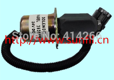 SA-4754-12 Fuel Shutdown Solenoid Valve for engine3934171, 3934972, 3832211,3919422, 12V,4PCS/LOT jiangdong engine parts for tractor the set of fuel pump repair kit for engine jd495