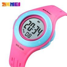SKMEI Kids Horloge LED Sport Stijl Kinderen Horloges Boy Girl Fashion Digitale Horloge 5Bar Waterdicht Horloge montre enfant 1455